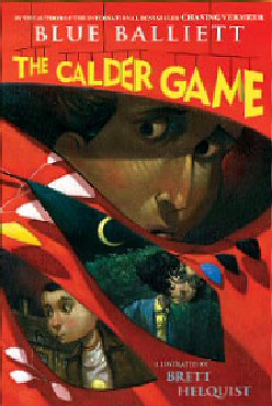 Book cover, 'The Calder Game'