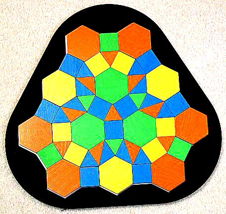 Combinatorix Jr. tiling set