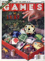 Games cover for December 1992