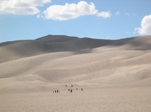 Great Sand Dunes, hiking endless distances