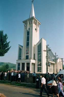Day of dedication of modern new cathedral