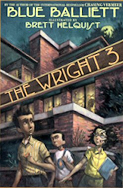 Book cover, 'The Wright 3'